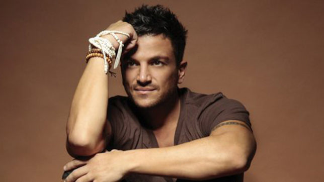 Peter Andre is slowly learning lines
