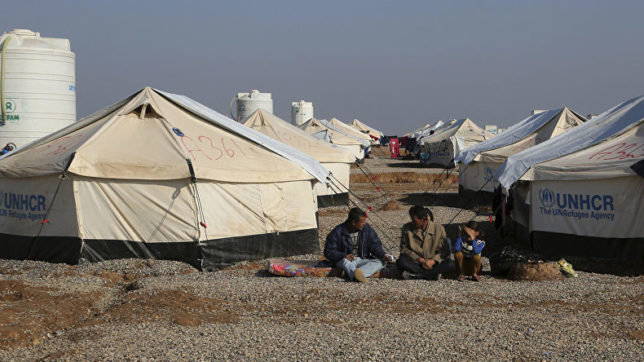 UN opens 12th refugee camp in Iraq to shelter families fleeing Mosul