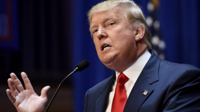 US President Donald Trump signs executive order on cybersecurity