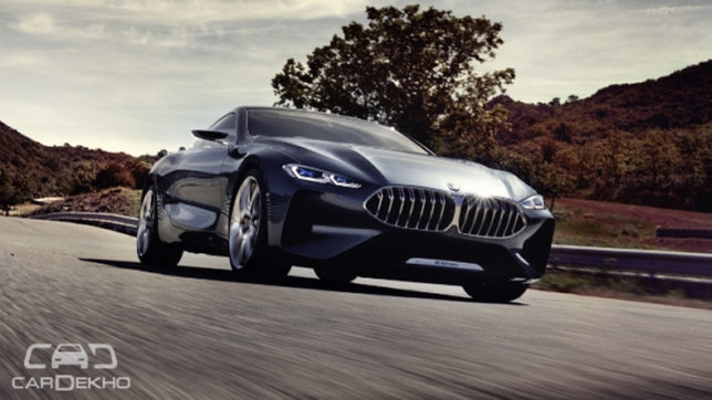 BMW 8 Series Coupe concept breaks cover