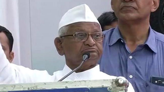 Deeply saddened by new controversy around Arvind Kejriwal: Anna Hazare