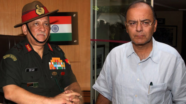 Finance Minister Arun Jaitley, Gen Bipin Rawat to review security situation in J&K