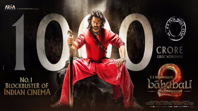 'Baahubali 2: The Conclusion' mints Rs 1000 crore worldwide; Prabhas pens an emotional letter