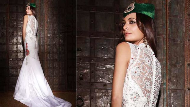 Give a fusion touch to your wedding wear