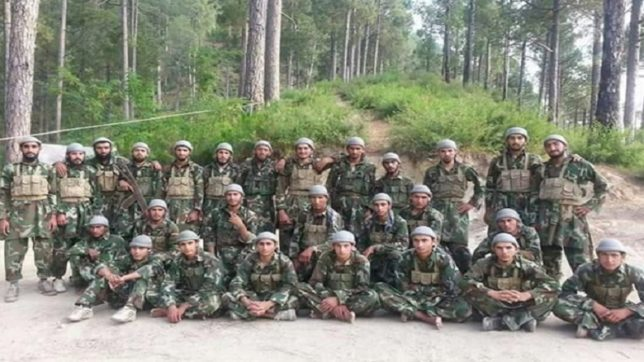 Latest terrorist batch picture of Hizbul Mujahideen goes viral on internet