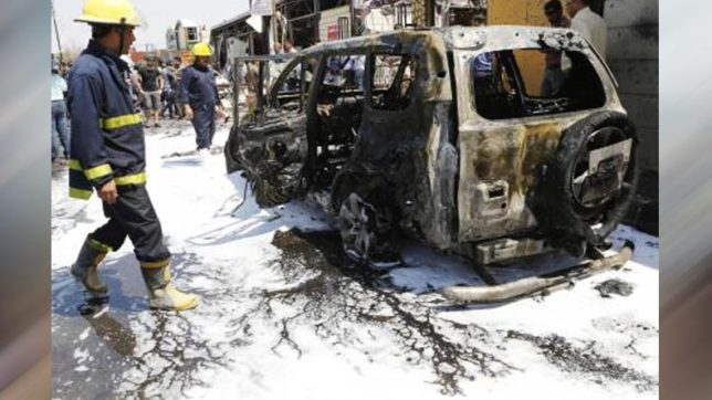 At least 3 killed in 2 suicide car bombs in Iraq's Basra