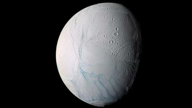 Saturn moon Enceladus may have tipped over, finds Cassini