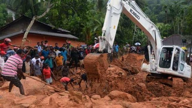 Death toll from Sri Lanka's landslides, floods rises to 91