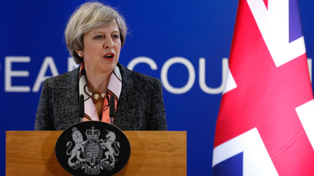 Cyber attack disrupting British NHS was international: Theresa May