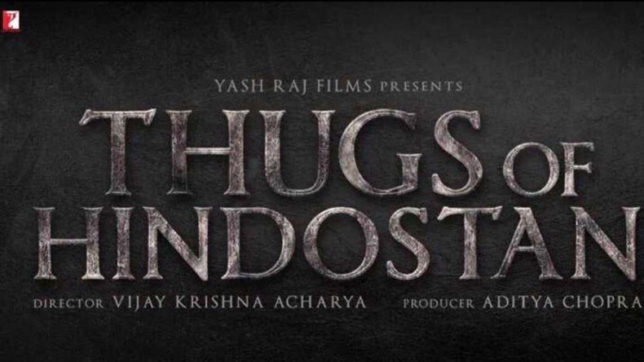 'Thugs of Hindostan' starring Big B and Aamir Khan to release next Diwali; logo unveiled