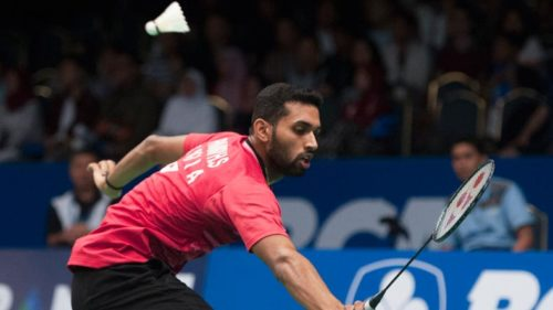 Prannoy-H.S.-of-India-competes-during-the-men's-singles-quarterfinal-match-against-Chen-Long-4