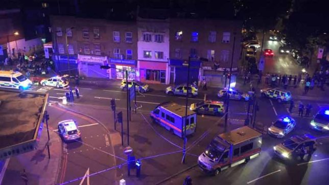 London: Several feared injured as van rams pedestrians near Finsbury Park Mosque, one suspect arrested