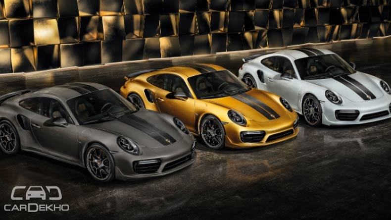 Porsche introduces 911 Turbo S Exclusive Series