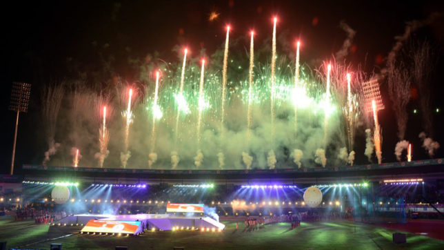 Asian Athletics Championship 2017 kicks off with a glitzy opening ceremony