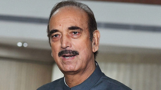 Didn't know BJP got mandate to massacre minorities, Dalits says Congress leader Ghulam Nabi Azad