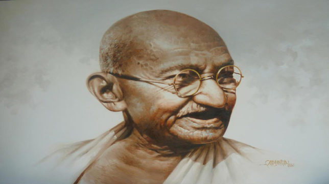 Poster of 'Gandhi's Memorabalia' launched
