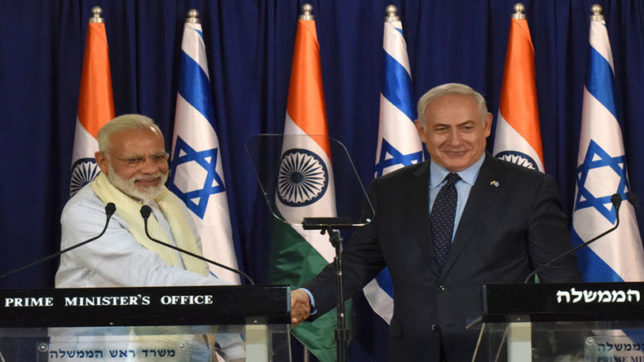 India, Israel agree to combat radicalization and terror