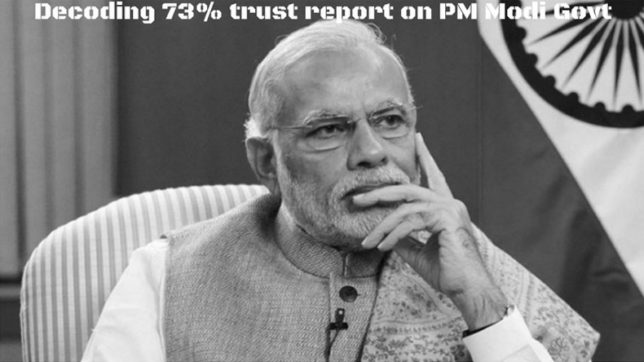 Decoding 73% trust report on PM Modi Govt