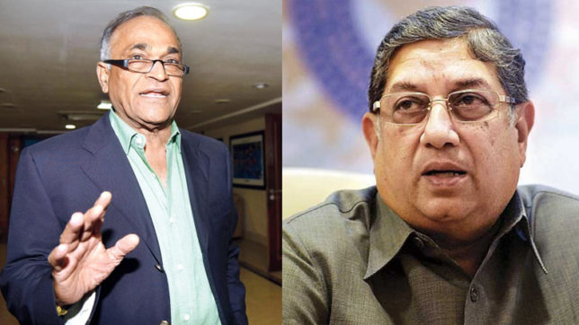 SC notices to N Srinivasan & Niranjan Shah for attending BCCI meet; charges against Thakur dropped