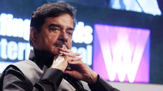 Things like nepotism only for sake of discussion: Shatrughan Sinha