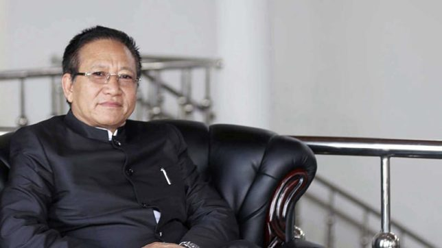 Political crisis in Nagaland, Zeliang stakes claims to power