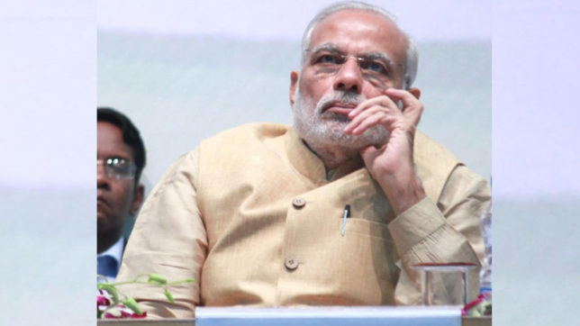 PM Narendra Modi urges opposition to shun corrupt politicians