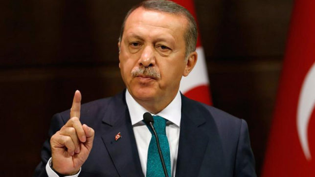 Turkish President Recep Tayyip Erdogan discusses Syria with US secretary of state