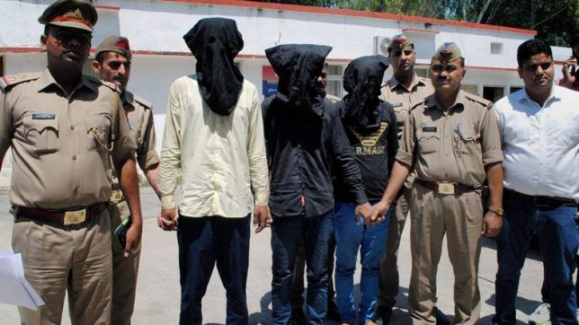 Muslim family attacked on train in UP, three detained