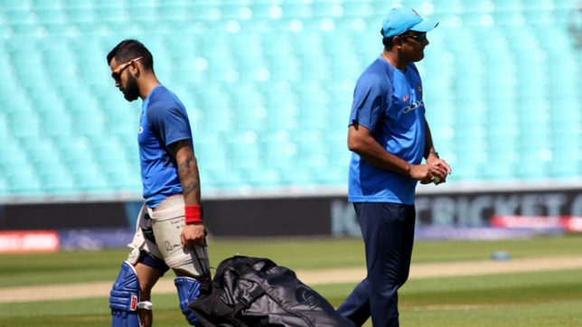 BCCI official downplays Virat Kohli's role in coach appointment