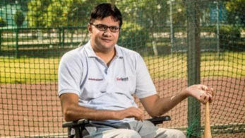 Saroha's pulled off his record best throw of 30.25 m in his third attempt to clinch the silver medal