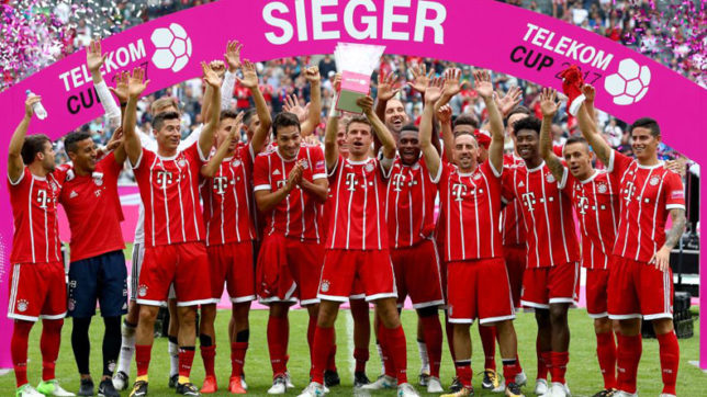 Bayern Munich outclass Werder Berman by 2-0 to lift fourth Telekom Cup