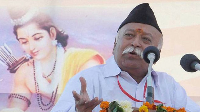 Nation wanted to see Mohan Bhagwat as President, BJP failed, says Shiv sena