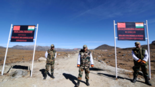 India accused China on changing quo on border.