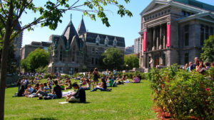 Canadian institutions, The University of Toronto, Ted Sargent, Toronto