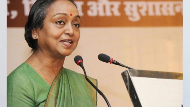 Easy to target Dalits who've achieved something: Meira Kumar to NewsX