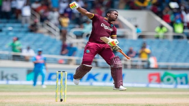 EvinLewis shines as West Indies beat India by nine wickets