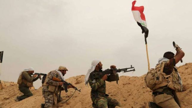 Dozens of IS militants killed in air raid: Iraqi forces