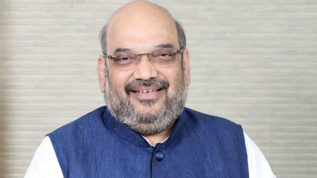 BJP chief Amit Shah arrives in Goa on a 2 day visit
