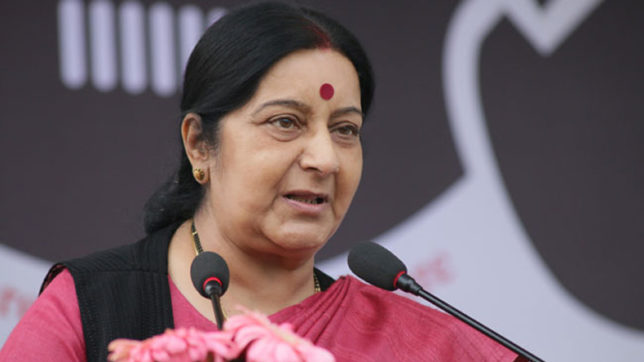 Declaring 39 missing Indians dead without proof is a sin: Sushma Swaraj