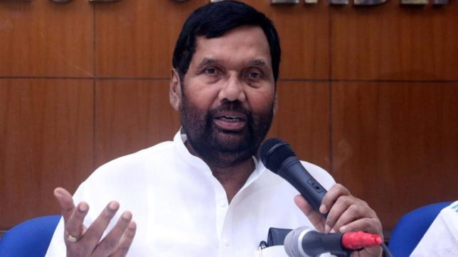 Raids on Lalu have nothing to do with NDA government: Ram Vilas Paswan