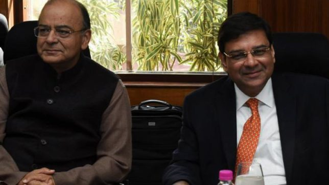RBI Governor Urjit Patel meets Arun Jaitley before monetary policy review