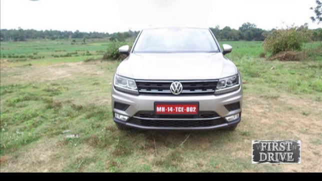 Living Cars: First Drive of Volkswagen Tiguan