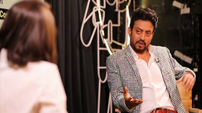 At the Movies with Anupama Chopra — Irrfan Khan shares his traumatic experiance while growing up
