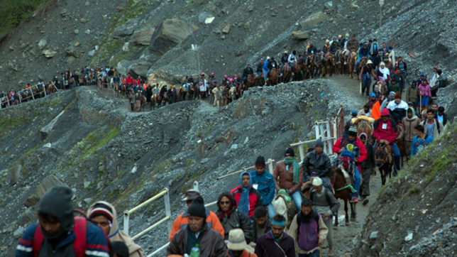 Over 2,600 pilgrims leave for Amarnath Yatra