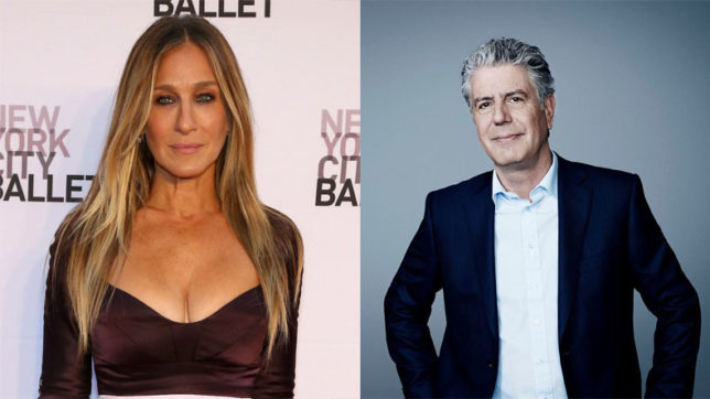 Bourdain, Jessica Parker to speak at Produced By Conference