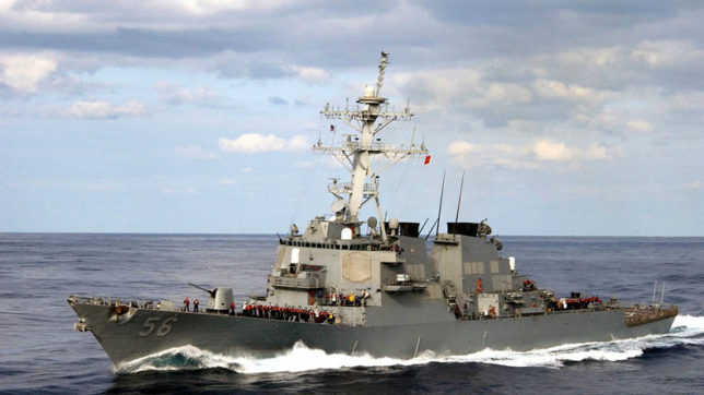 Search continues for 10 missing US sailors