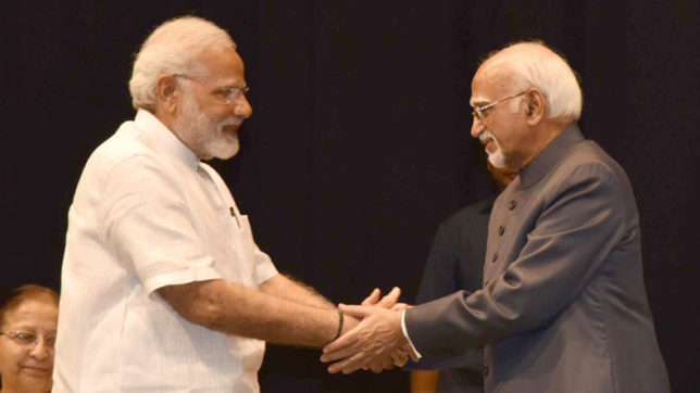 PM-Modi-says-Hamid-Ansari-free-to-pursue-core-thinking-from-now-on