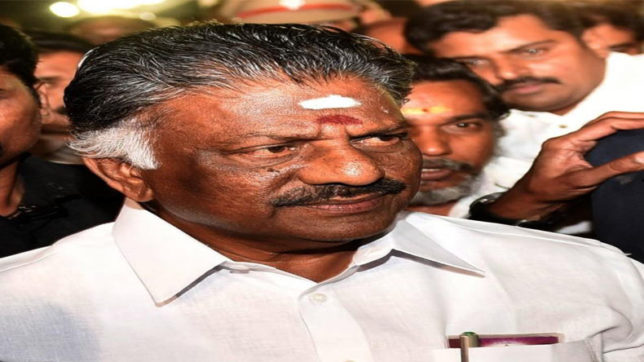 Panneerselvam to announce decision on AIADMK merger