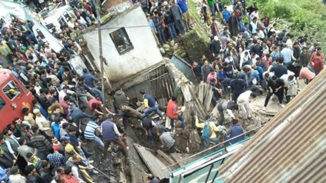 Building collapses in Shimla's Theog; 1 dead, 6 injured