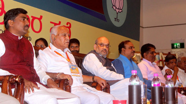 Separate religion tag for Lingayats Congress' political game: Amit Shah